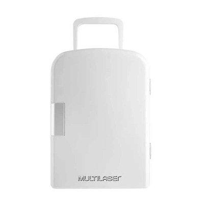 Mini Geladeira Portátil 12V 6 Litros Trivolt Branca Multila