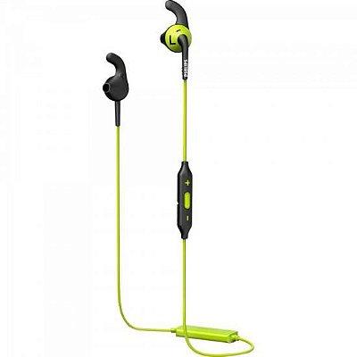 Fone Esportivo Bluetooth Wireless SHQ6500CL/00 Preto/Verde P