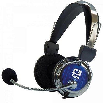 Headset Gamer PTERODAX 2322RC Prata C3 TECH
