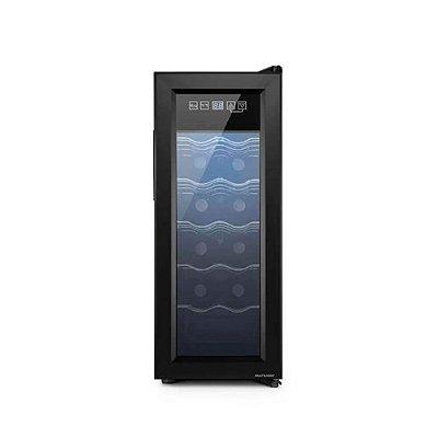 Adega Climatizada 220V com 65W Capacidade para 12 garrafas D