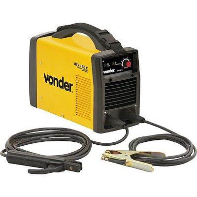 Maquina Solda Retificador/Inversor 220V RIV 160C