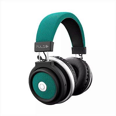 Fone de Ouvido Bluetooth Large Verde Pulse
