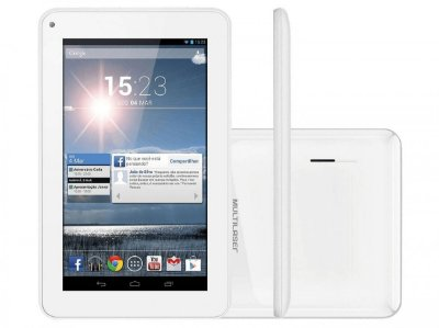 "M7s Quad Core Tablet Wi-fi - 7"" Branco - NB185"