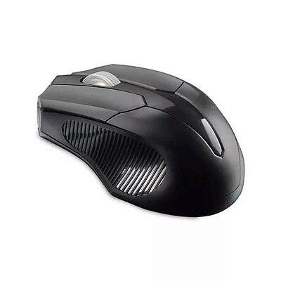Mouse sem fio 2.4 GHZ USB Box Bulk Preto Multilaser - MO265