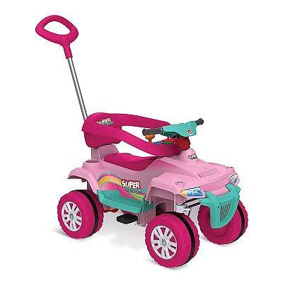 Supersquad Smart Passeio & Pedal (Rosa) Bandeirantes - 475