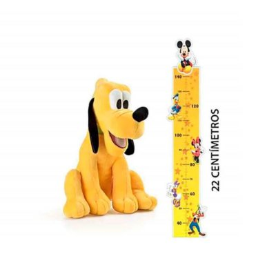 Pelúcia Pluto com Som Tam. 22cm Material Fibra/ Poliéster