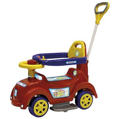 Quadriciclo Velotrol Baby Car Vermelho - Biemme 586