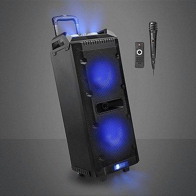 Caixa de Som Multilaser Torre Disco Light 300w RMS - SP290