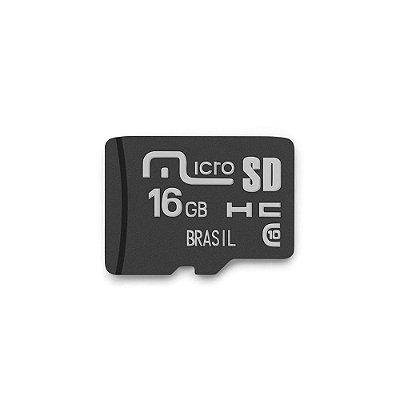 Cartão de Memória Classe 10 16GB Multilaser - MC143
