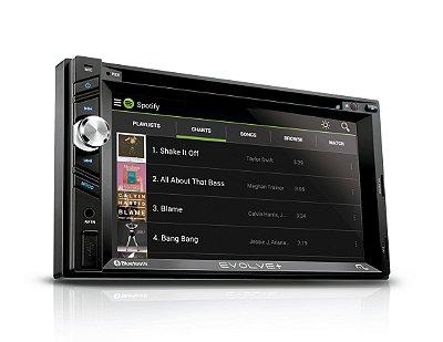"Central Multimidia Evolve+ Tela 6.2"" Gps Tv Bluetooth Bt Mir"