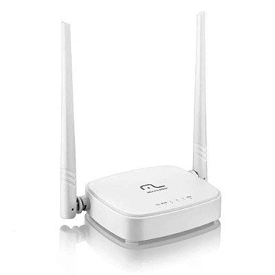 Roteador 300Mbps Ipv6 - 2.4 Ghz 2 Antenas Branco Multilaser