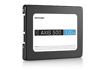 Ssd 2,5 Polegadas Axis 500 120gb Ss100 - Multilaser