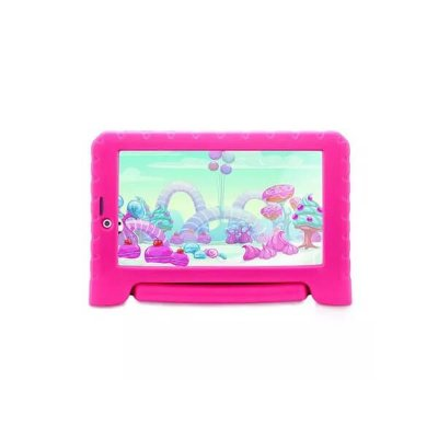 Tablet Multilaser Kid Pad Plus 3G Rosa 1GB Android 7 Wifi Me
