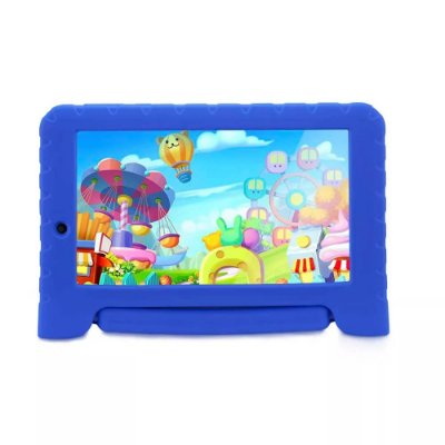 Tablet Multilaser Kid Pad Plus Azul 1GB Android 7 Wifi Memó