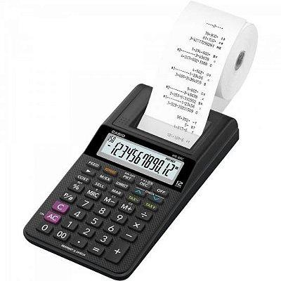 Calculadora com Bobina 12 Dígitos HR-8RC-WE-B-DC Preta CASI