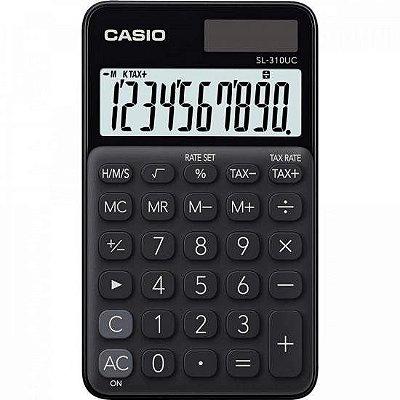 Calculadora de Bolso 10 Dígitos SL310UC Preta CASIO