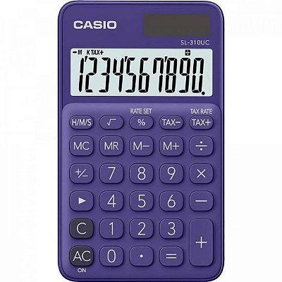 Calculadora de Bolso 10 Dígitos SL310UC Roxa CASIO