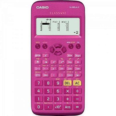 Calculadora Científica FX82LAX Rosa CASIO