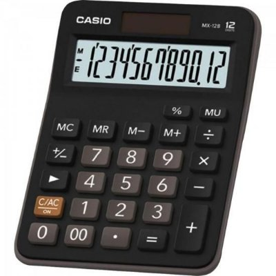 Calculadora de Mesa MX-12B Preta CASIO