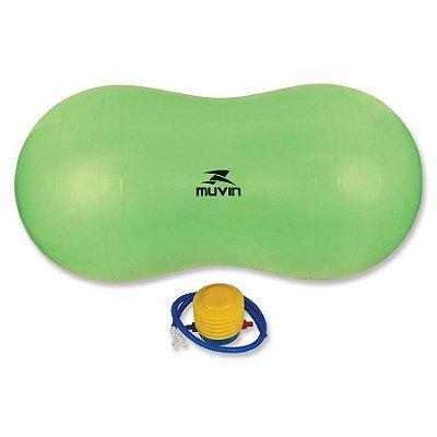 Bola de Pilates Peanut 90cm x 45cm – BLG-500  - Verde - Mu