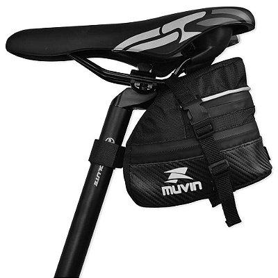 Bolsa de Selim Mtb Trail para Bicicleta - Muvin BBK-300