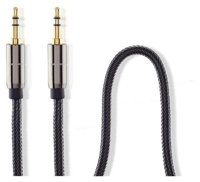 Cabo Audio C/ Nylon 3,5mm M/m 1,8m Multilaser - WI285