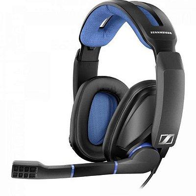 Headset Gamer GSP 300 Preto/Azul SENNHEISER