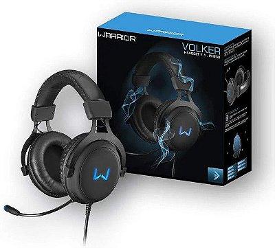 Headset Gamer Warrior Volker PH 258 USB