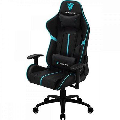 Cadeira Gamer BC3 THUNDERX3 Ciano