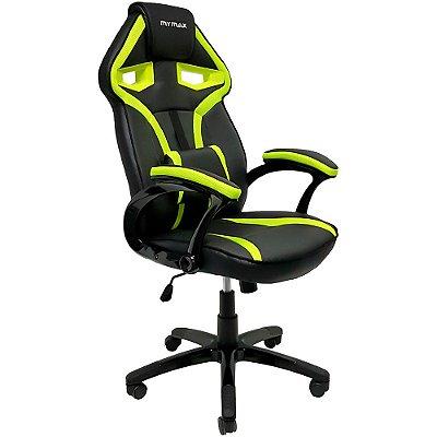 Cadeira Gamer Mymax MX1 Verde