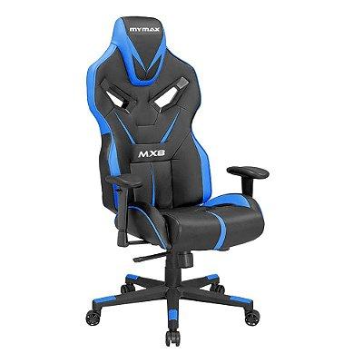 Cadeira Gamer Mymax MX8 Azul