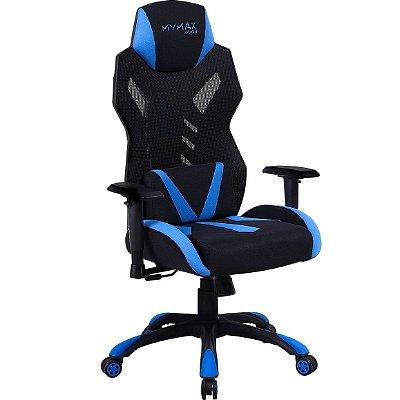 Cadeira Gamer Mymax MX13 Azul