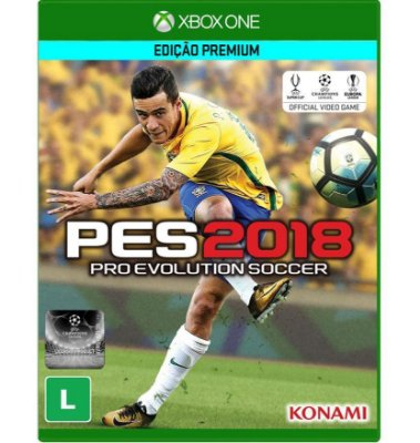 Jogo Pro Evolution Soccer 2018 (PES18) - Xbox One