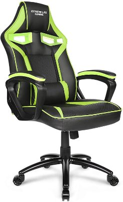 Cadeira Gamer ELG Raptor CH04GE verde