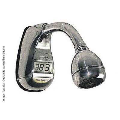 Temp Shower Soletrol - Termômetro Digital para Duchas 1/2 Pol. Fácil de Instalar!