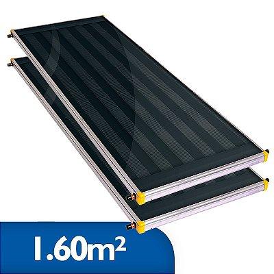 Coletor Solar Soletrol 1,60m² - Embalagem e Preço para 2 coletores