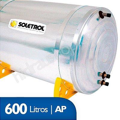 Reservatório Térmico Soletrol Max - 600 litros - Alta Pressão - D60
