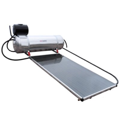 Aquecedor Solar Compacto Solquent 200 Litros com Coletor Solar de 1,6m². Simples de Instalar!
