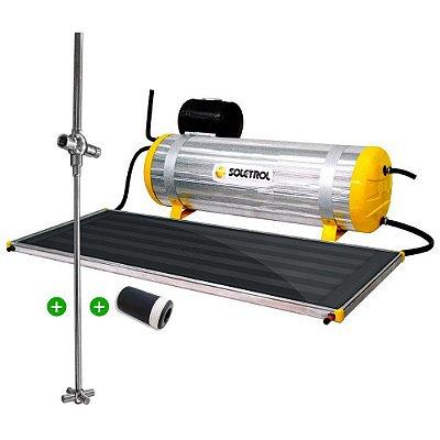 Aquecedor Solar Soletrol Special 200 Litros com Coletor Solar 1,6m² + VAC Válvula Atenuante de Congelamento + Registro Misturador Solar para Chuveiro + KIT Instalação