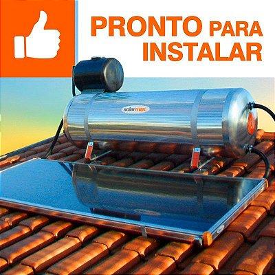 Aquecedor Solar Solarmax Eco 200 com Coletor Solar de 1,6m² - Pronto para Instalar!