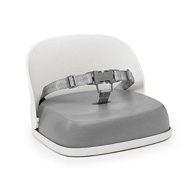Assento Infantil Oxotot - Elevação com encosto e cinto - Cinza