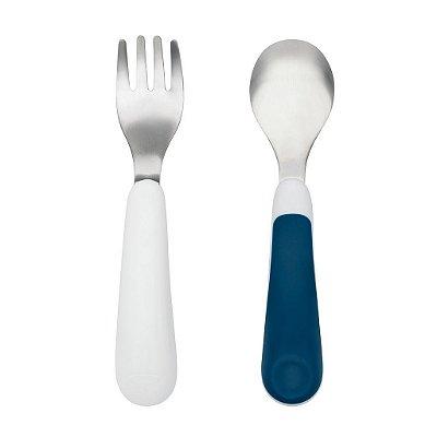 Conjunto garfo e colher Oxotot - Azul Marinho