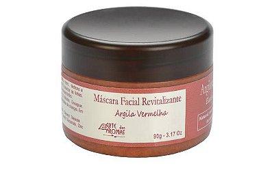 Argila Vermelha Máscara Facial Revitalizante Arte dos Aromas 90g