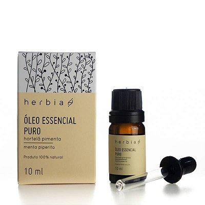 Óleo Essencial Hortelã Pimenta Herbia 10 ml
