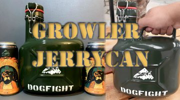 mini banner Growler