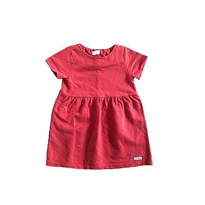 Vestido GREEN Infantil Tijolo