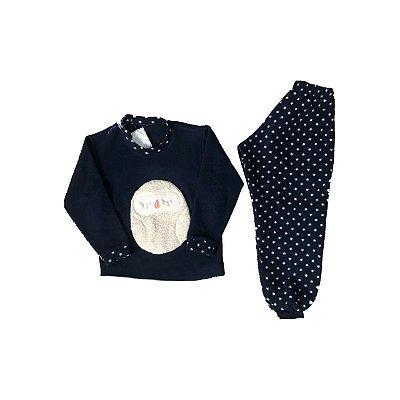 Pijama FLEECE Infantil Coruja