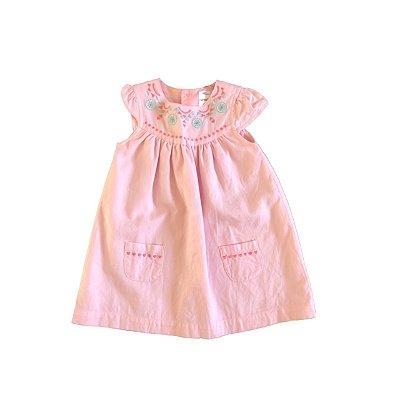 Vestido CARTER`S Infantil Rosa