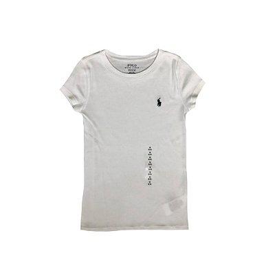 Camiseta Ralph Lauren Branca com Etiqueta