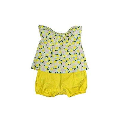 Romper GAP Infantil Limões Amarelo